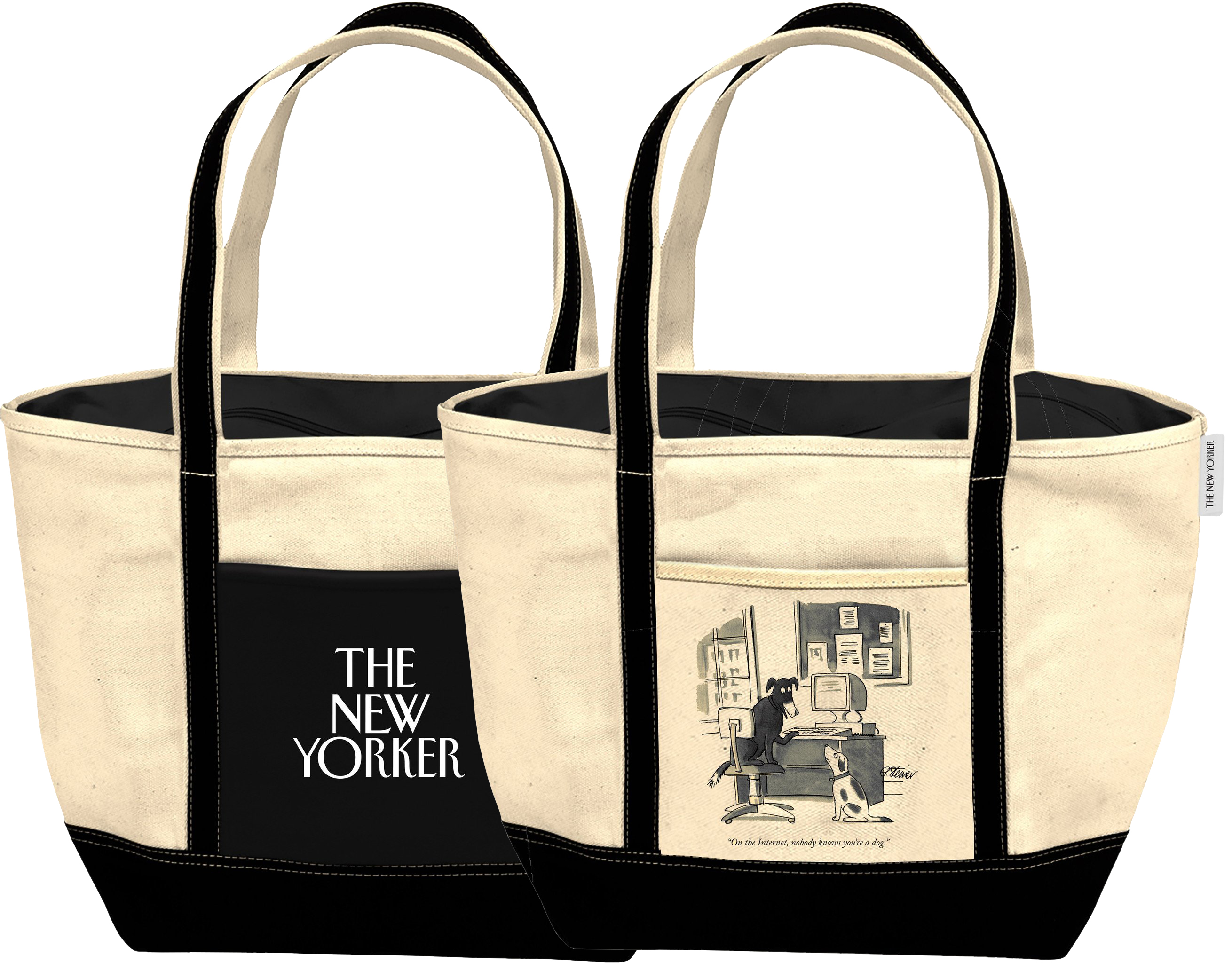 New Yorker Internet Dog Tote Politics And Prose Bookstore