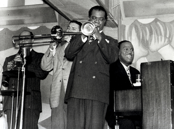 Louis Armstrong at Club Bali