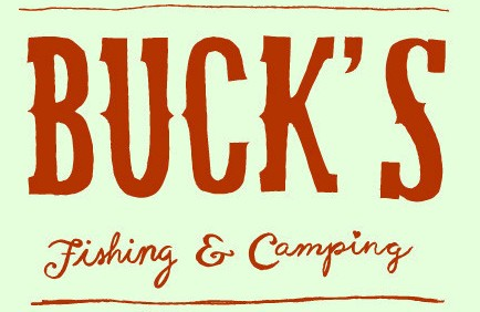 bucks fishing and camping logo