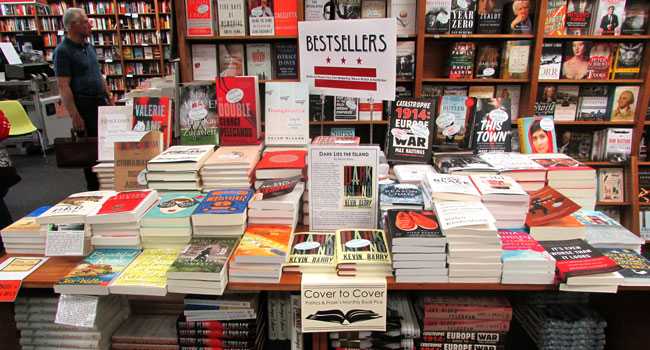 Determining And Displaying Bestsellers Politics And Prose Bookstore